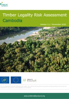 Cambodia Timber Legality Risk Assessment